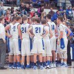 Waldron High School Boys Varsity Basketball beat Edinburgh High School 65-59