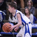 Waldron Boys 8th Grade Basketball beat North Decatur High School 45-28
