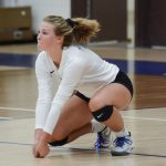 Waldron High School Girls Varsity Volleyball falls to Morristown High School 3-0