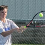Waldron High School Boys Varsity Tennis beat Edinburgh High School 3-2