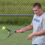 Waldron High School Boys Varsity Tennis beat Morristown High School 5-0