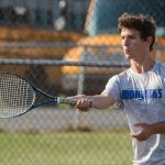 Waldron High School Boys Varsity Tennis falls to Tri High School 4-1