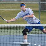 Waldron High School Boys Varsity Tennis falls to Greensburg High School 4-1