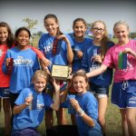 Waldron Girls Middle School Cross Country finishes 1st place