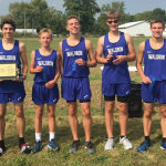 Waldron High School Boys Varsity Cross Country finishes 1st place