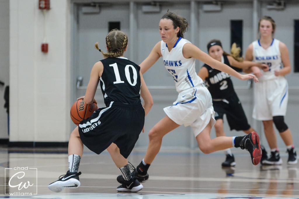Waldron High School Girls Varsity Basketball falls to Hauser 59-37