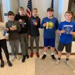 Waldron junior high boys track places 2nd vs Southwestern and GCA