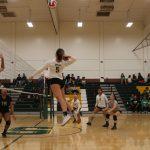 Saddleback High School Girls Varsity Volleyball falls to Costa Mesa High School 3-0