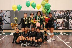 2018 Varsity Girls VB vs Costa Mesa