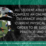 2020-2021 Athletic Clearance