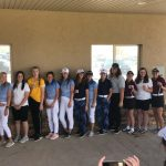 Girls Varsity Golf finishes 1st place at Roosevelt Golf Tournament