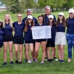 Girls Varsity Golf finishes 5th place at Utah State 3A Golf