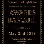 Providence Hall Sports/Activity Awards Night