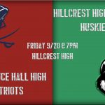 Parking at Hillcrest High Varsity Football Game Friday