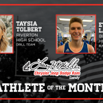 And the Larry H. Miller in Sandy December Athlete of the Month is….