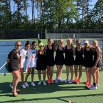 Girls Varsity Tennis beats Starrs Mill 4 – 0