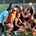 Girls Varsity Tennis beats Flowery Branch 3 – 2