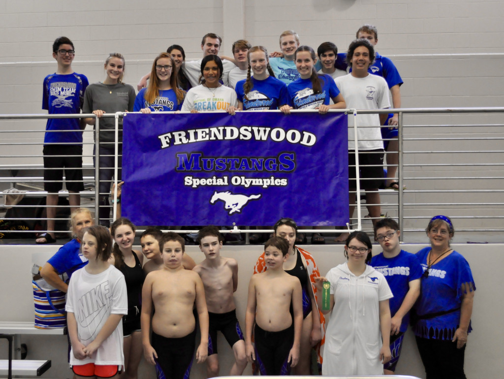 Friendswood Swim Team Hosts Displaced Special Olympics Meet