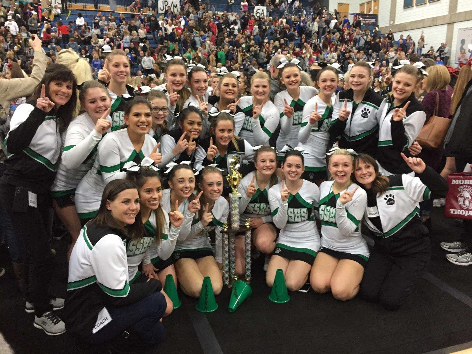 South Summit Cheer Leaders Take State in School Song Category in 1st Year of Competition