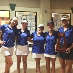 Girls Golf Places 1st in FHSAA 3A Region 5 Championship