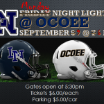 Football Week 3: Lake Nona @ Ocoee Changed to Monday Night!
