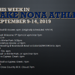 This Week in Lake Nona Athletics