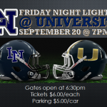 Football Week 5:  Lake Nona @ University