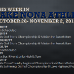 This Week in Lake Nona Athletics: October 28-November 2, 2019