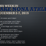 This Week in Lake Nona Athletics: December 2-7, 2019