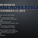 This Week in Lake Nona Athletics: December 9-14, 2019