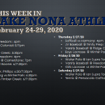 This Week in Lake Nona Athletics: February 24-29, 2020