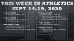 This Week in Lake Nona Athletics: September 14-19, 2020