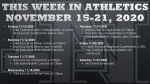 This Week in Lake Nona Athletics: November 15-21, 2020