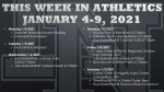 This Week in Lake Nona Athletics: January 4-9, 2021