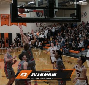 Evan Ohlin 1,000 Points