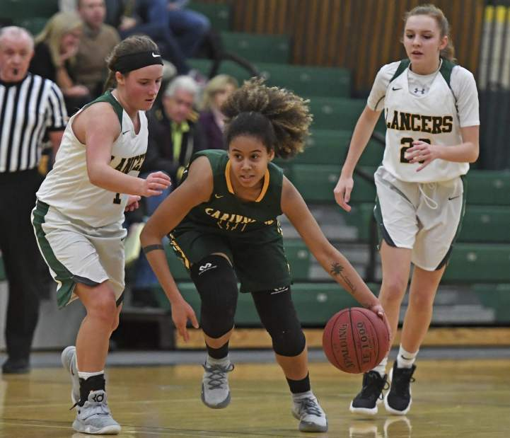 """Trib HSSN- Jade Lee """"one to watch"""" in upcoming Girls Basketball playoffs"""