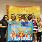 Middle School Cheer squad takes 1st place at cheer competition