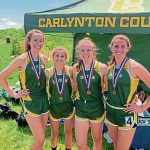 Carlynton girls 3,200 relay team runs as quickly as it was put together