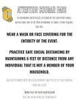 IMPORTANT:  Mask and Social Distancing Policies for Attendance at Home Spring Sporting Events