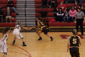 Waynedale Girls Basketball at Rittman 12/8/16