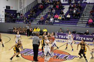 Waynedale vs. Triway Girls Basketball 12/12/16