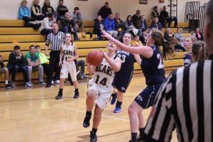 Waynedale vs. Hillsdale Girls Basketball 12/15/16