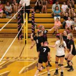 """Waynedale Varsity Volleyball vs. Smithville """"Volley-for-the-Cure"""" 9/26/17"""
