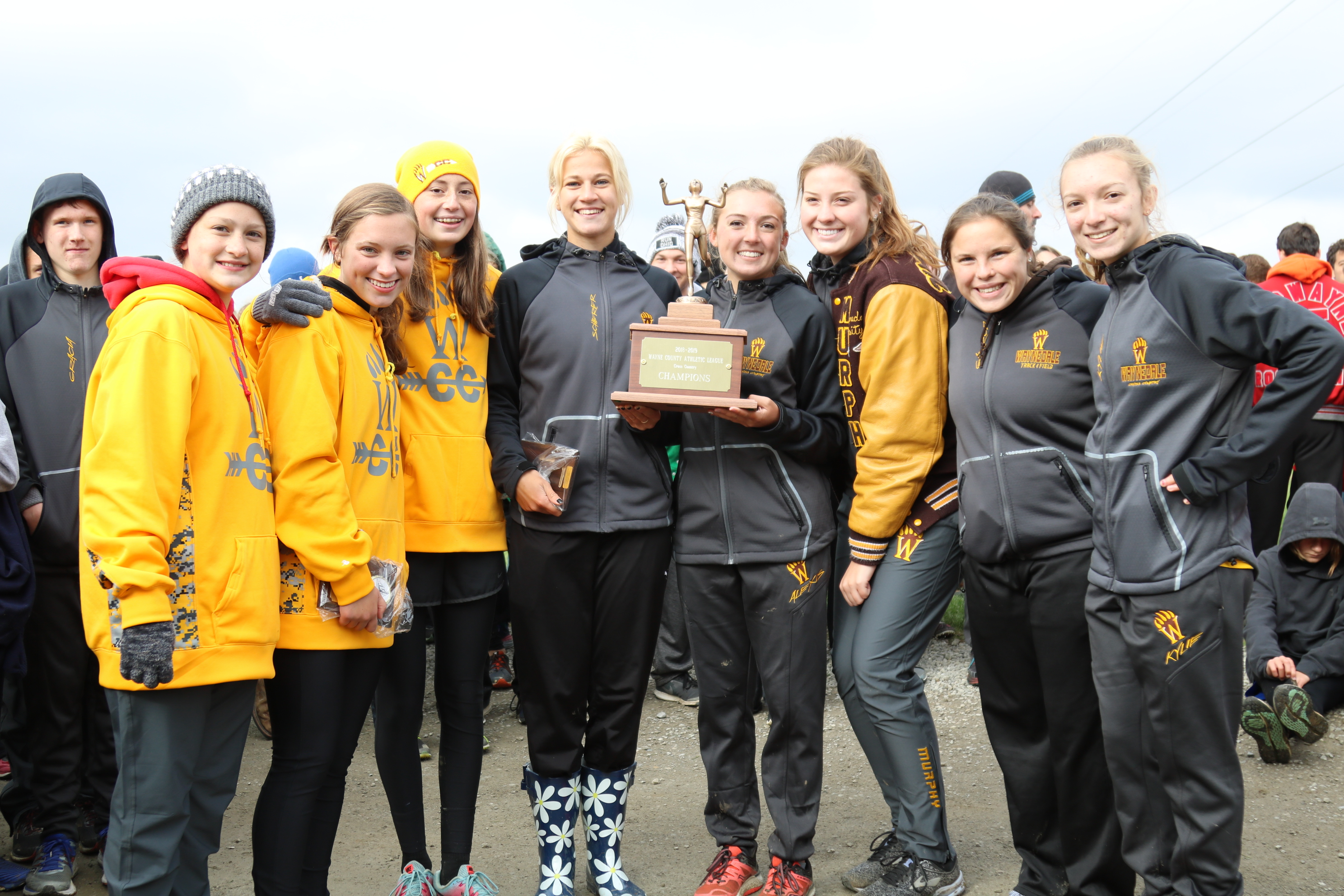 Waynedale Girls are WCAL Cross Country Champions