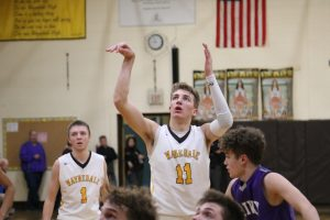 Waynedale Varsity Boys Basketball vs. Triway 2/19/19 (Senior Night)