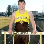 Tyler Matter Reaches State Championships in Shot Put