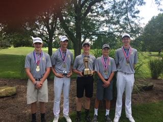 Waynedale Golf Shoots School Record on Way to Simonson Invitational Title