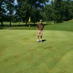 Ean Miller Knocks in a Hole-In-One at the Hillsdale Invitational