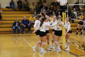 Waynedale Varsity Volleyball vs. Hillsdale 10/10/19 (Senior Night)
