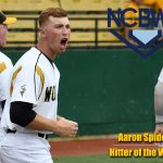 2016 Golden Bear Grad, Aaron Spidell is Awarded N.C.B.W.A. DIII Baseball Honors